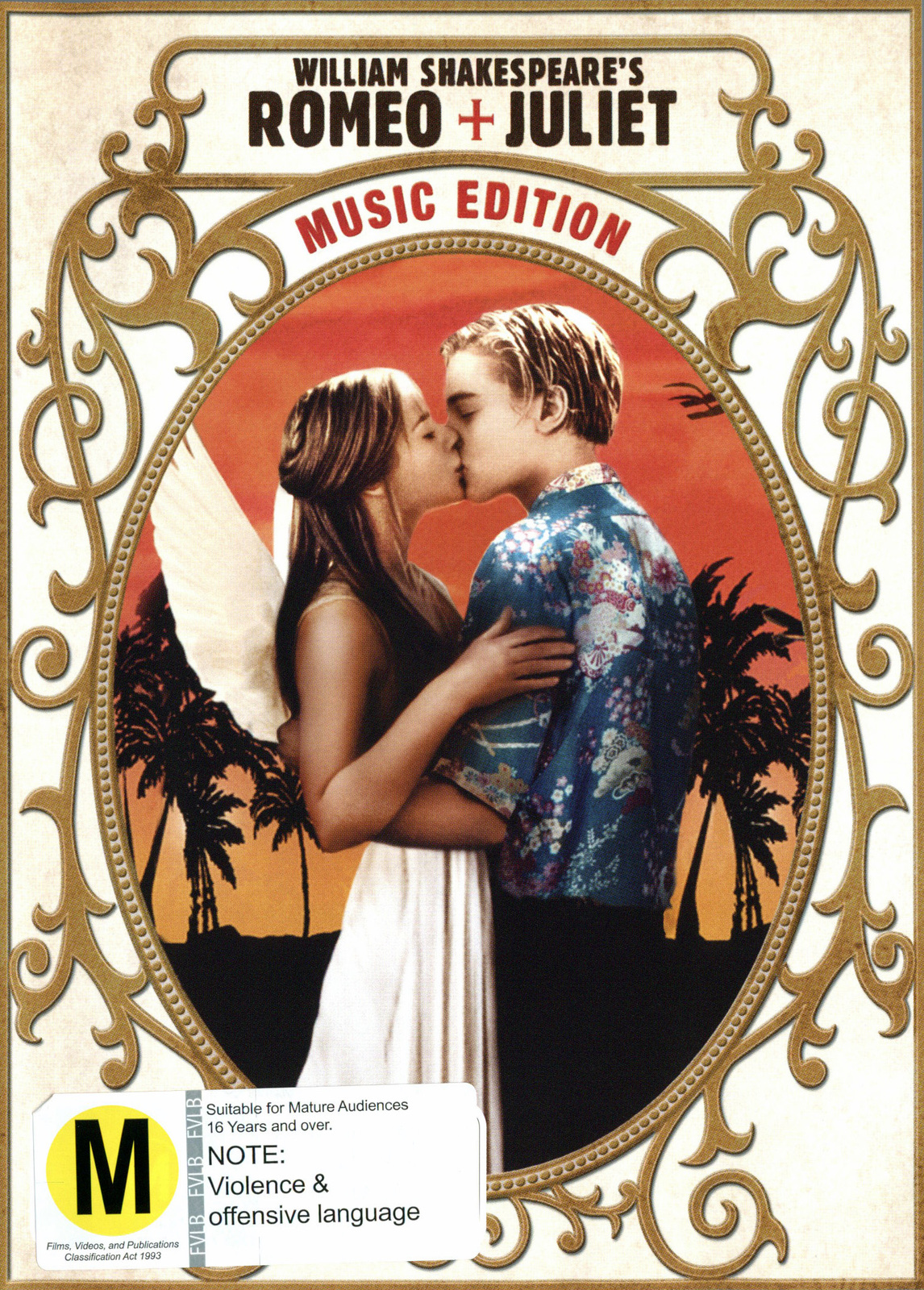 Romeo + Juliet (1996) - Music Edition on DVD image