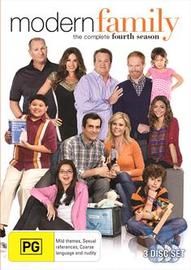Modern Family - The Complete Fourth Season on DVD