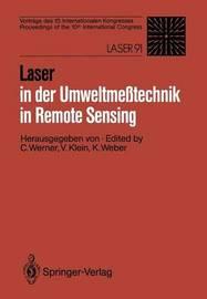 Laser in der Umweltmesstechnik / Laser in Remote Sensing