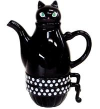 Black Cat Tea Set (For Two)