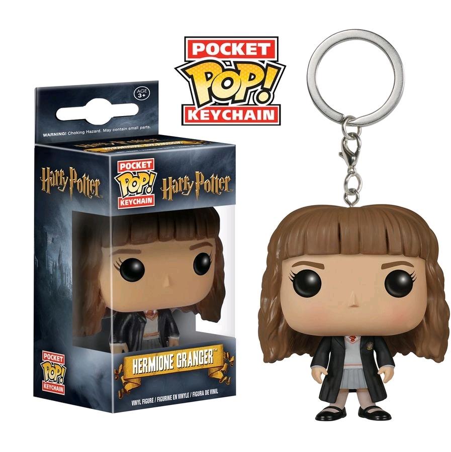 Harry Potter - Hermione Pocket Pop! Keychain image
