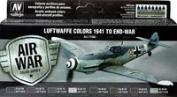 Vallejo Luftwaffe Colours - 1941 To End-War (8 Colors)