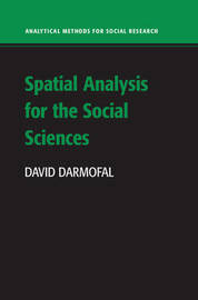 Analytical Methods for Social Research by David Darmofal