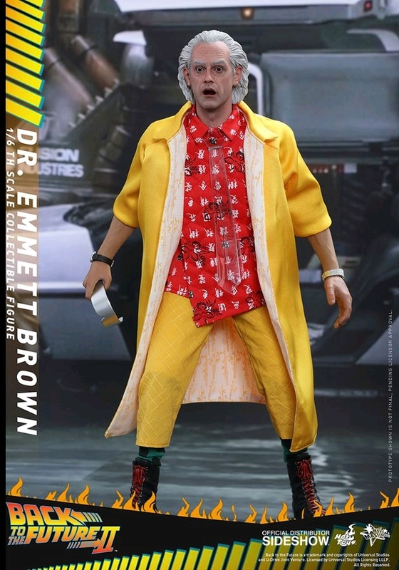 "Back To The Future: Dr Emmett Brown - 12"" Articulated Figure"