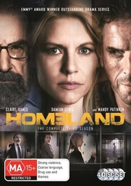 Homeland - The Complete Third Season on DVD