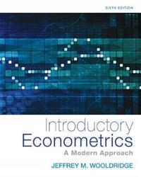 Introductory Econometrics by Jeffrey Wooldridge