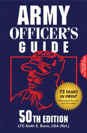 Army Officer's Guide by Keith E. Bonn image
