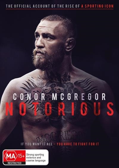 Conor Mcgregor - Notorious on DVD