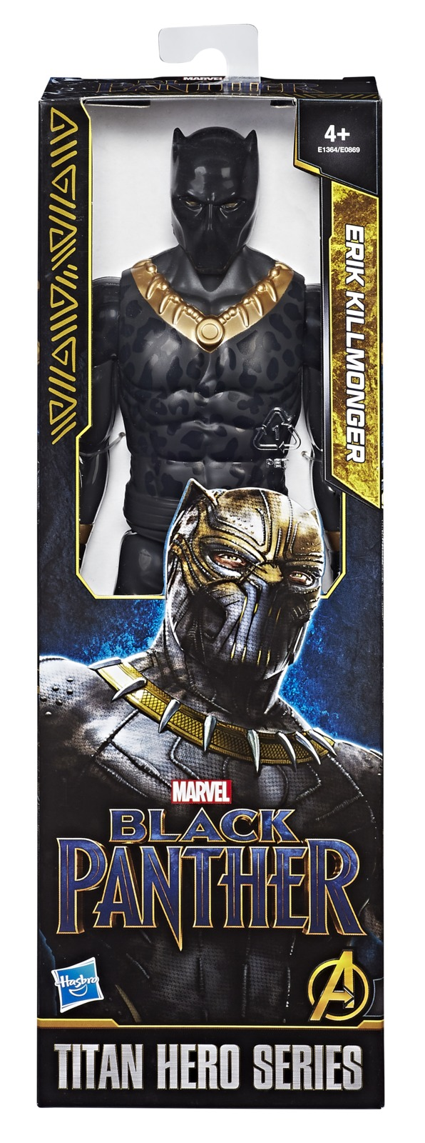 "Marvel: Titan Hero - Erik Killmonger 12"" Figure image"