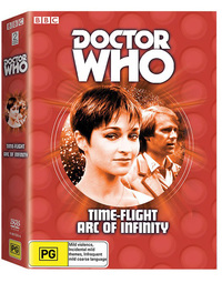 Doctor Who: Time Flight/Arc of Infinity on DVD