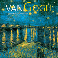 Graphique De France: Van Gogh 2019 Square Wall Calendar