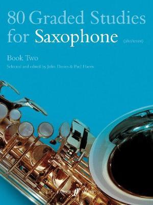 80 Graded Studies for Saxophone Book Two by John Davies