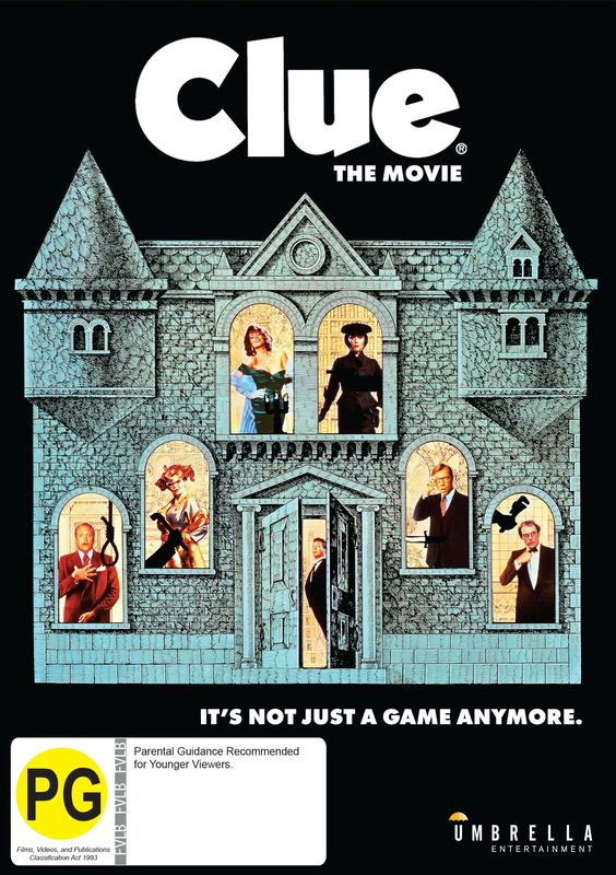 Clue on DVD