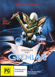 Gremlins on DVD image