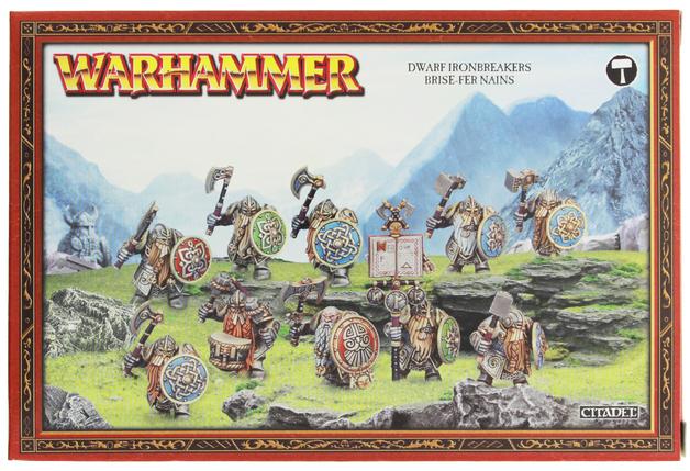 Warhammer Dispossessed Ironbreakers