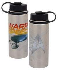 Star Trek: Warp Speed - 18 oz. Vacuum Insulated Stainless Steel Water Bottle