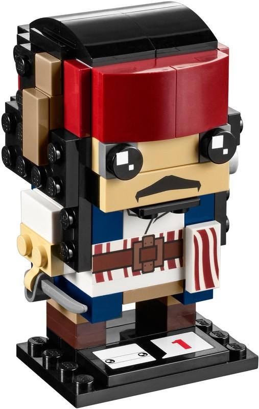 LEGO Brickheadz - Captain Jack Sparrow (41593)