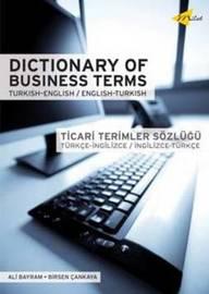 Dictionary Of Business Terms Turkish-english/english-turkish by Birsen Cankaya image