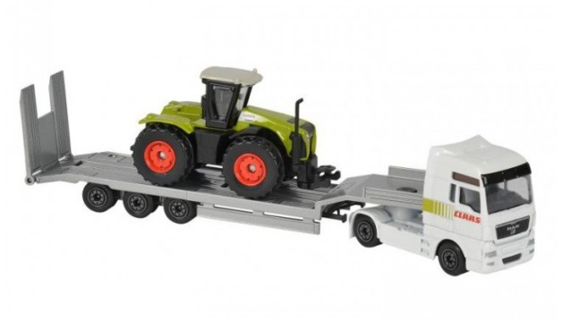 Majorette: Farm Playset - (Truck & Tractor)