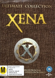 Xena - The Complete Seasons 1-6 on DVD