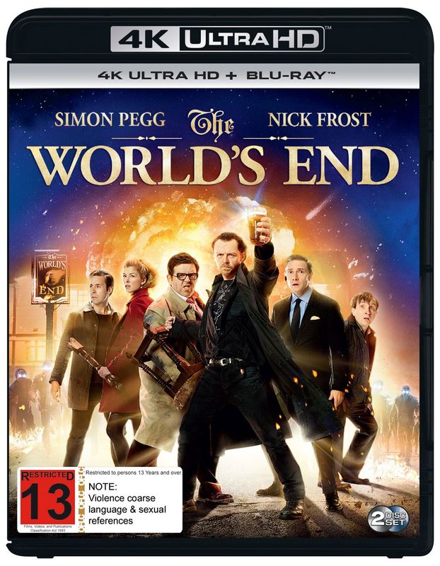 The World's End on UHD Blu-ray