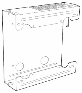 Hewlett-Packard (SFF) Wall Mount / Security Sleeve