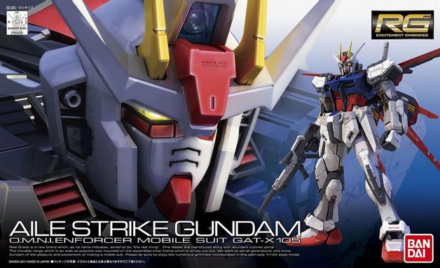 RG 1/144 GAT-X105 Aile Strike Gundam - Model Kit