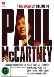 Paul Mccartney - Musicares on DVD