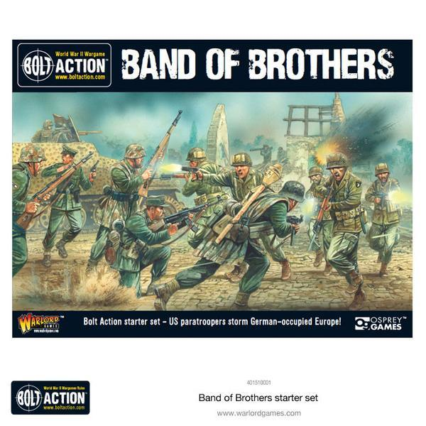 Bolt Action Second Edition Starter Set: Band of Brothers image