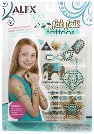 Alex: Fab Foil Tattoos Set - Teal