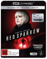 Red Sparrow on UHD Blu-ray