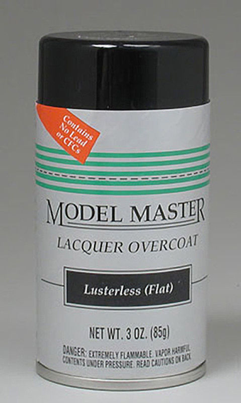 Model Master: Enamel Aerosol - Clear (Flat)