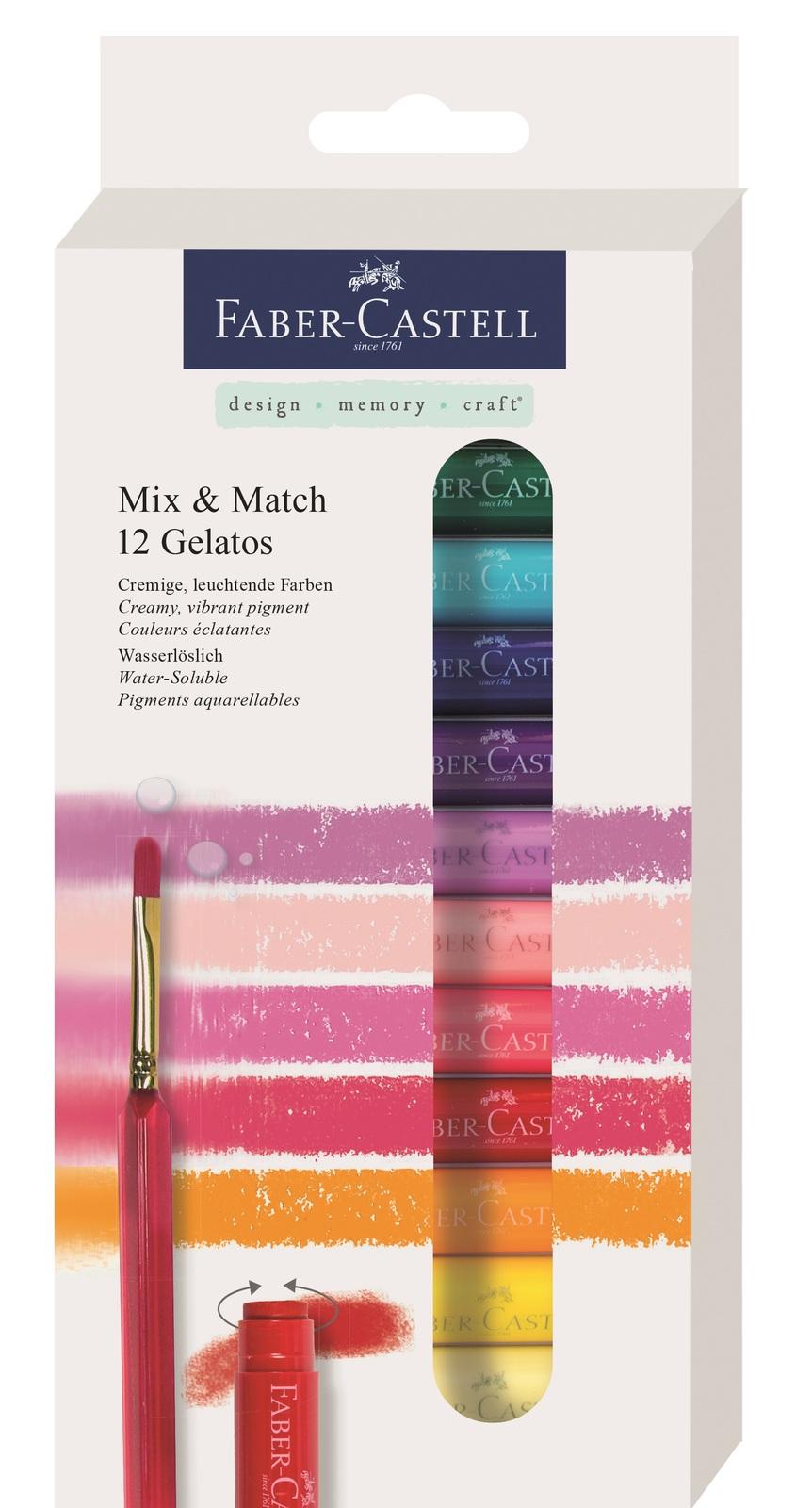 Faber-Castell: Gelatos - Set of 12 Colours image