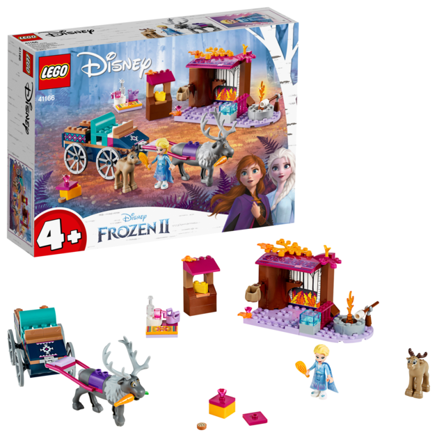 LEGO Disney: Frozen II - Elsa's Wagon Adventure (41166)