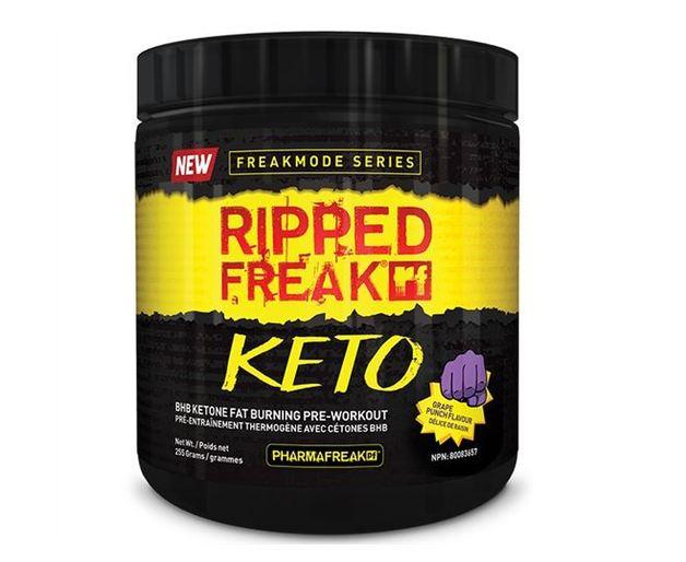 Ripped Freak Keto Pre-Workout - Grape (30 Serves)
