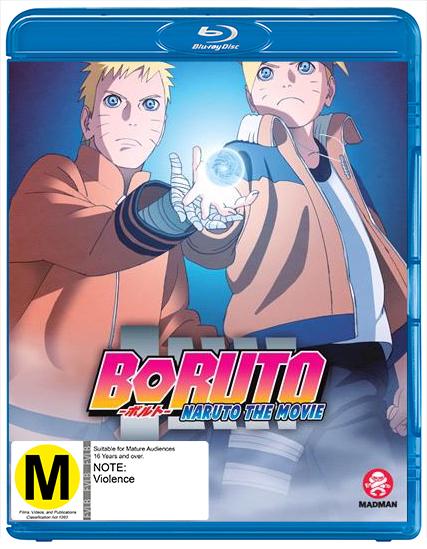 Boruto: Naruto the Movie on Blu-ray image
