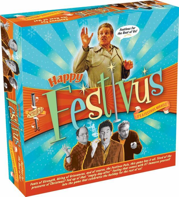 Seinfeld: Happy Festivus - Board Game