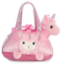 Aurora: Fancy Pal Pet Carrier – Peek A Boo Llamacorn