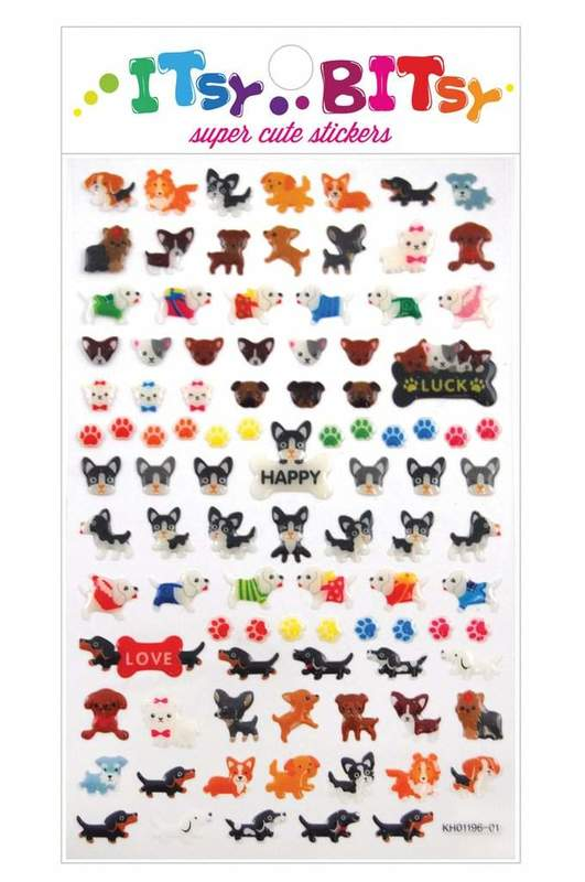 Ooly: Sticker Sheet - Pooches