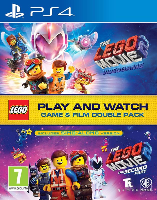 Lego Movie 2 Game & Film Double Pack for PS4