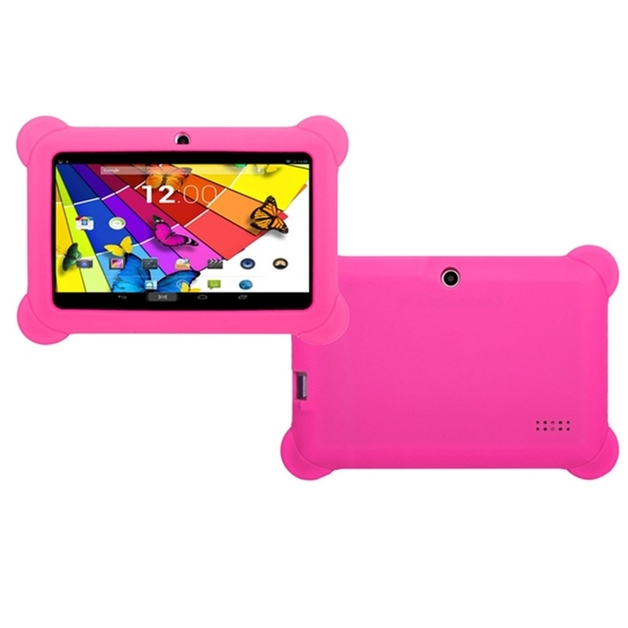 """7"""" QuadCore Kids Android Tablet & Case - Pink"""