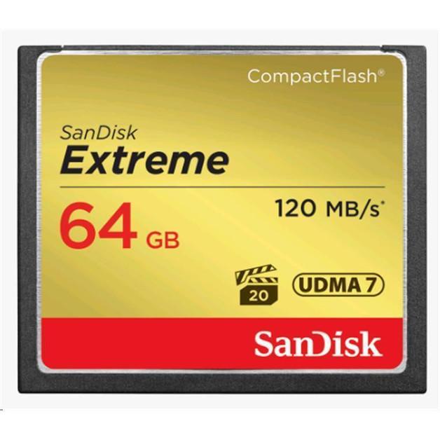 SanDisk: Extreme - 64GB Comapct Flash
