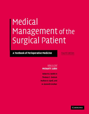 Medical Management of the Surgical Patient: A Textbook of Perioperative Medicine image