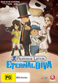 Professor Layton and the Eternal Diva on DVD