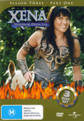 Xena - Warrior Princess: Season 3 - Part 1 (3 Disc Set) on DVD