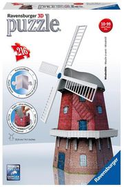 Ravensburger 216 Piece 3D Jigsaw Puzzle - Windmill