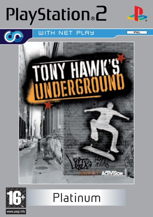 Tony Hawk's Underground for PlayStation 2