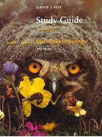 Invitation to Biology: Study Guide by Helena Curtis image
