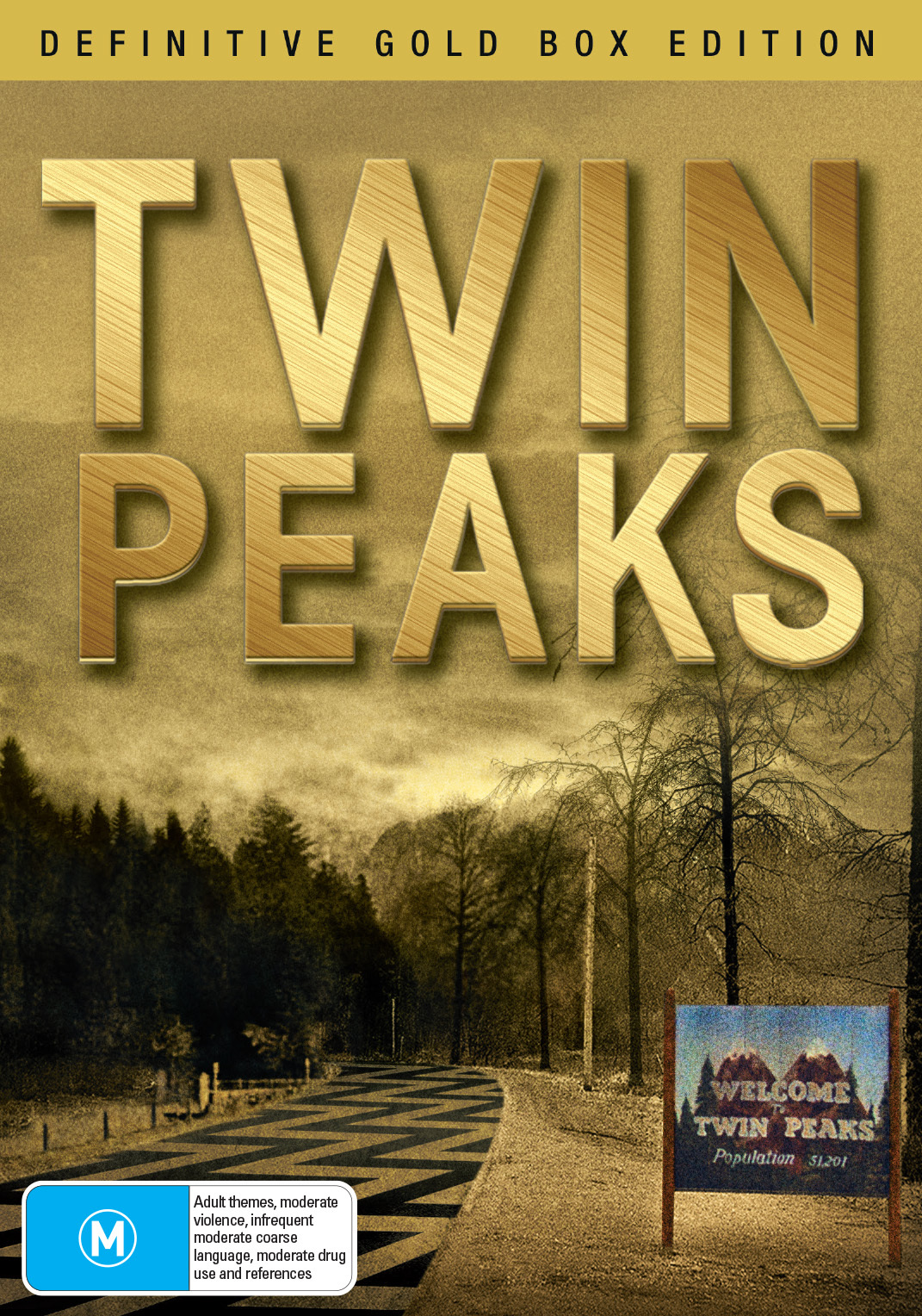 Twin Peaks: Series 1-2 - Definitive Gold Box Edition on DVD image