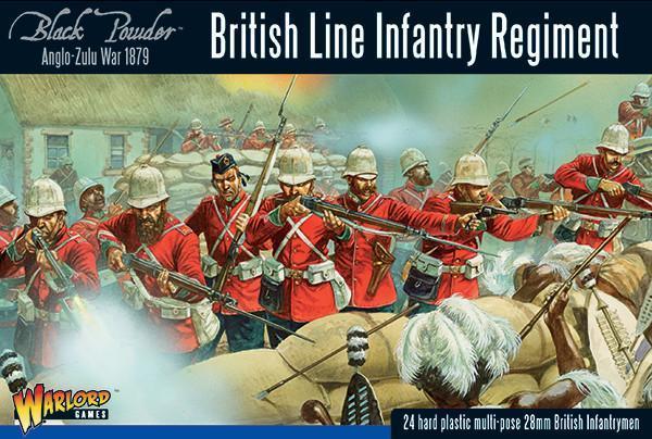 Anglo Zulu War British Line Infantry Regiment
